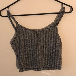 Active USA Cropped Tank Top